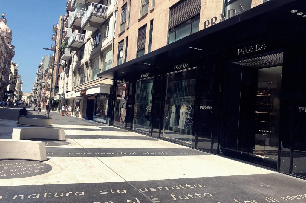 ulica Vittorio Emanuele w Bari