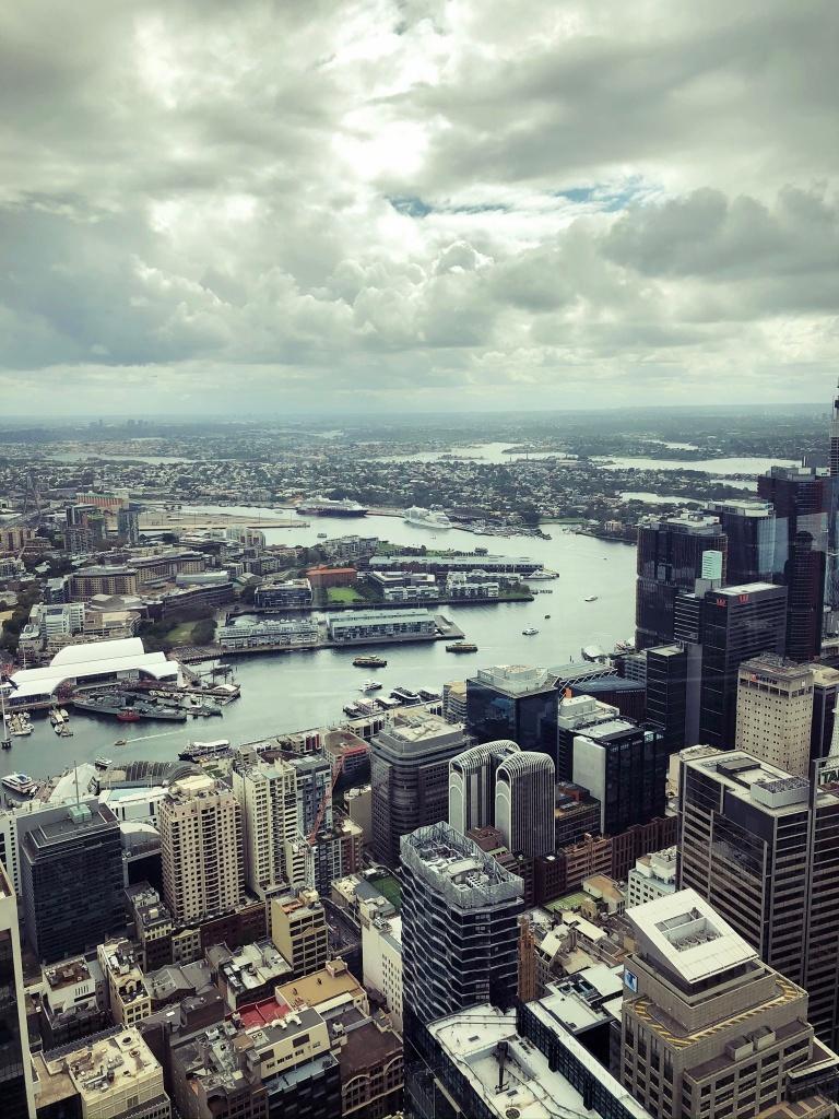 Widok na panoramę Sydney