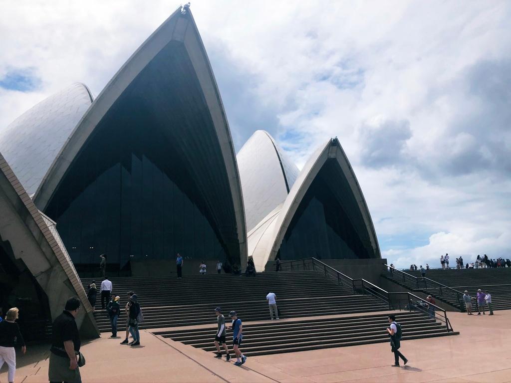 Opera w Sydney z bliska