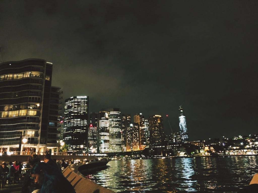 Circular Quay nocą