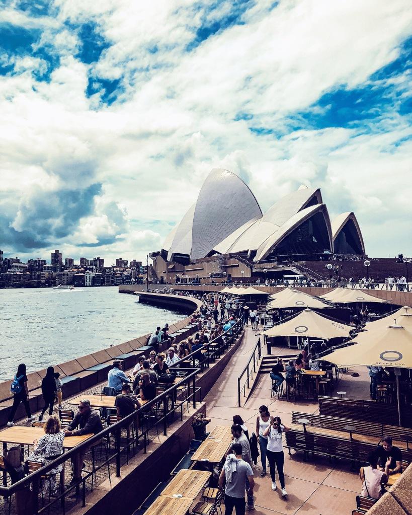 Promenada przy Operze w Sydney