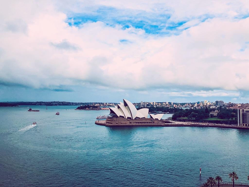 Opera w Sydney z lotu ptaka