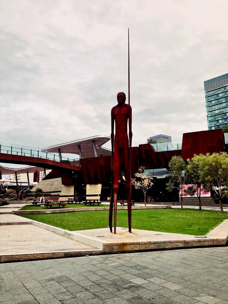 pomnik aborygena yagana w Perth