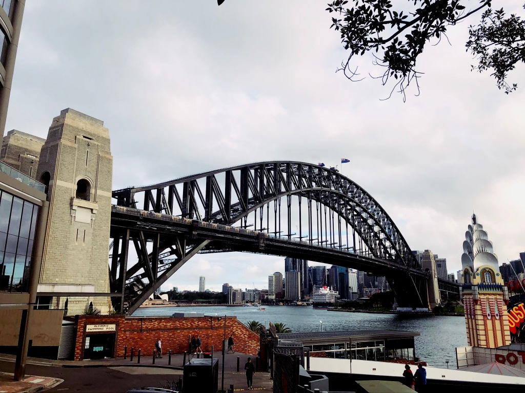 most Harbour Bridge w Sydney