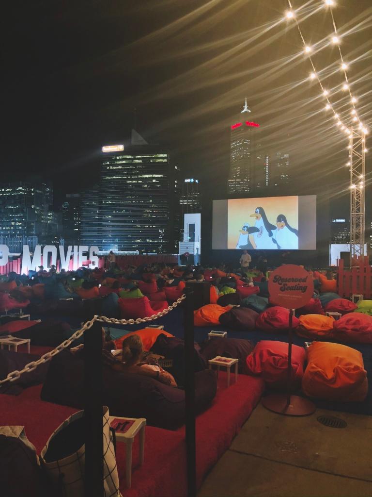 kino letnie na szczycie wieżowca